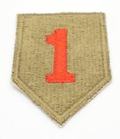 WWII 1st Infantry Division The Big Red One DI Unit Crest Patch NO GLOW