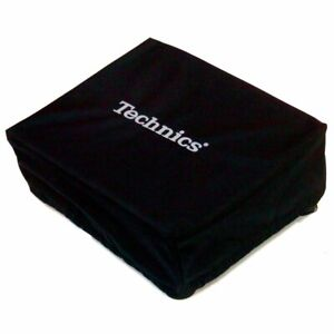 Technics Turntable Cover (Black & Silver) Fits Pioneer, Reloop and more