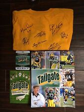 Packers Autographed Gold Shirt & Other Items - Including Jordy Nelson!