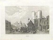 2  Orig. copperprints by Strahlheim ca. 1850  GENT GA