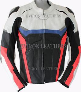 Eviron Motorcycle Motorbike Leathe Jacket new design