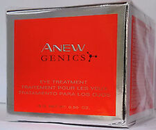 NEW AVON ANEW GENICS Eye Treatment Cream, NIB .50 oz OVERSTOCK