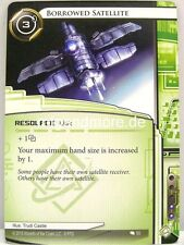 Android Netrunner LCG - 1x Borrowed Satellite  #050 - Creation and Control