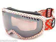 SCOTT women's pink FAZE Ski Goggles PATTERNMASH RED/ Silver CHROME Mirror 230807