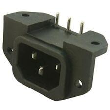 IEC PCB Mains Kettle Socket (2 Pack)