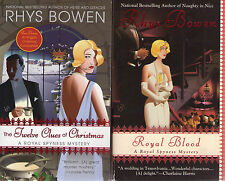 Complete Set Lot of 11 Royal Spyness Books by Rhys Bowen (Mystery)