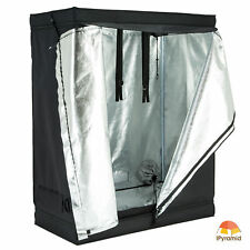 "48""x24""x60"" Grow Tent Room Reflective 600D Mylar Hydroponic Non Toxic Hut"