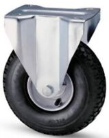 Wheel Wheels Pneumatic Record iron Support Fisso d.mm.260x85 Capacity Kg 150