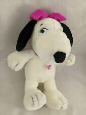 "Peanuts Belle Beagle Dog Plush 11"" Snoopy Sister Stuffed Animal"