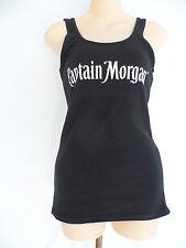 Captain Morgan Spiced Rum Tank Top Black Size M New