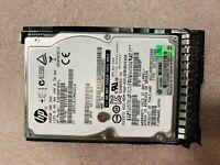 "HP EG0300FBVFL 641552-001 507129-004 300GB 10K 2.5"" SFF SAS HARD DRIVE Gen9 G8 9"