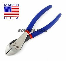 Pro America 7 in. Diagonal Cutters Dikes Wire Cutter Pliers Heavy Duty USA MADE