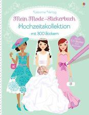 Mein Mode-Stickerbuch: Hochzeitskollektion Fiona Watt Mein Mode-Stickerbuch