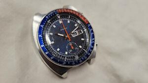 "Seiko 6139-6005 Automatic chronograph, 1973, ""Pogue"", runs well, all original!"
