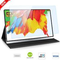 "UPERFECT 15.6"" USB Type-C Portable Monitor 4K 3840×2160 HDR IPS HD Ultra Slim US"