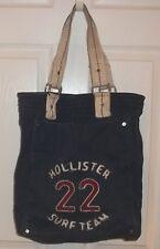 Womens HOLLISTER~LOGO TOTE BAG~NEW Canvas Satchel Shopper