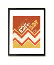 1970s Crisp Packet Art Print