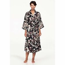 Ellos  Floral Print Kimono Sleeve Robe Size 4x(34/36)
