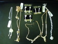 Lot Vintage Monet Rhinestone Necklace Earrings Sets
