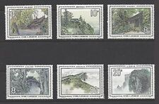 CHINA PRC # 1956-1961 MNH  TEMPLES MOUNTAIN SCENERY Complete Set of 6
