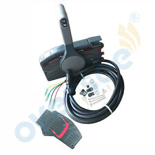Boat Outboard Remote Control Box for Yamaha 10Pin Cable Right Hand PUSH Throttle