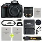 Nikon D5300 Digital SLR Camera with 18-55mm NIKKOR VR Lens + Backup Power Kit
