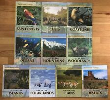 Lot 10 World Book Ecology Polar Land Island Rainforest Coastlines Desert Science