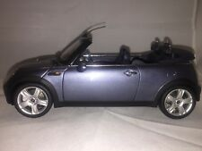 Kyosho 1/18 Scale Diecast  - Rare R52 Mini Cooper Convertible Blue Grey Metallic