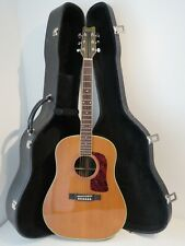1995 Washburn D-32-S Dreadnought Acoustic Guitar with Hard Case
