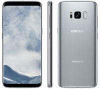 Samsung Galaxy S8 SM-G950 - 64GB - Arctic Silver Factory Unlocked - 8/10 Cond