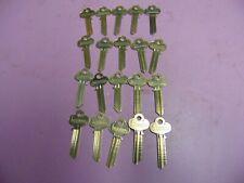 20 keys Org. Lockwood A67X Keys Blanks Uncut Locksmith
