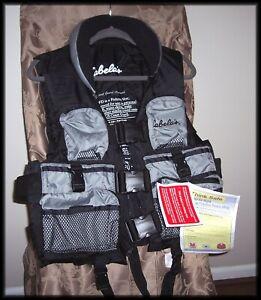 Cabela's Fishing Vest PFD 111 Flotation Aid Mod. 1810  Adult Med. New W/Tags