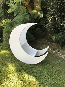 IN STOCK, Extra Large Moon Prop, Real Moon Curved Bench, Photo Prop, P/U Sydney