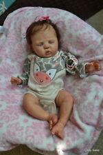 Ooak Reborn newborn real life  baby girl Morgan    Baby art doll