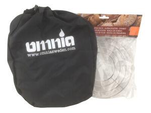 Omnia Campingbackofen Set mit Aufbackgitter Toaster
