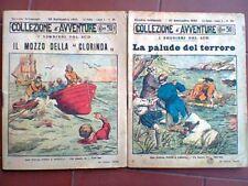 COLLEZIONE AVVENTURE JOSE' MOSELLI 1925 PICCO TOSELLI TORINO ROMANZO 2 ALBI
