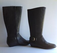 Ladies Leather Boots Size 11M