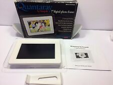 "Quantaray by Sunpak 7""Clear And LCD digital photo frame NO CHARGER"