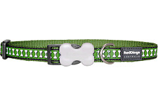 New listing Red Dingo Dc-Rb-Gr-Sm Dog Collar Reflective Green, Small