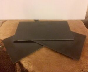 G10 Black 3mm x 3ins x 6ins for knifemaking scales, liner, wood craft, bushcraft