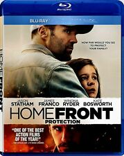 USED BLU RAY - HOME FRONT - JASON STATHAM, KATE BOSWORTH , JAMES FRANCO, WINONA