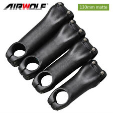 carbon fiber bike stem 130mm mtb road bike stems 31.8mm matte bicycle parts