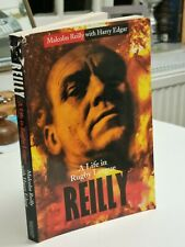 Castleford Tigers Malcolm Reilly signed 'A Life in Rugby League' by Harry Edgar