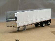 dcp chrome/white spread axle Tautliner curtain side trailer 1/64