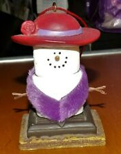 Red Hat Society The Original S'mores Midwest Christmas Ornament 2004