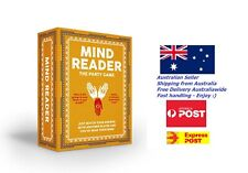 Mind Reader Card Game Party Fun Friends Kids Adults Family Team Play