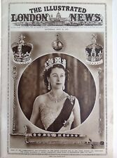 The Queens Coronation, A Magazine Pull Out, 28 Pages,  1953, Vintage, Original