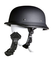 German Novelty Flat Black Helmet With Q-Release