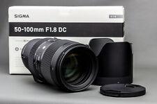 Sigma 50-100mm ƒ1,8 DC TOP! für Nikon