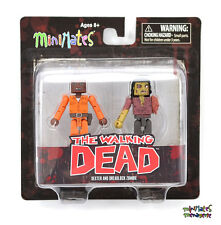 Walking Dead Minimates Series 3 Dexter & Dreadlock Zombie